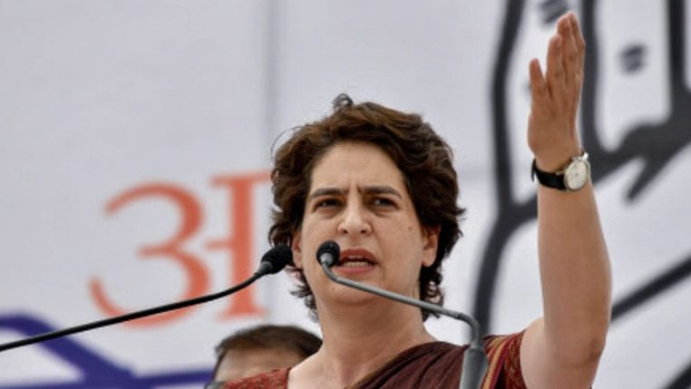 'Snatch power from men to shield yourself against crime': Priyanka Gandhi urges women to join politics