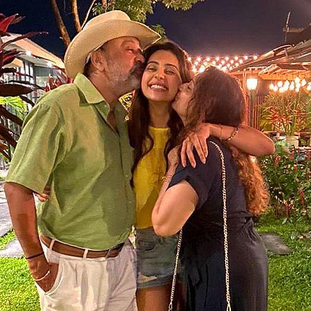 Rakul Preet Singh celebrates her 29th birthday in Phuket with parents