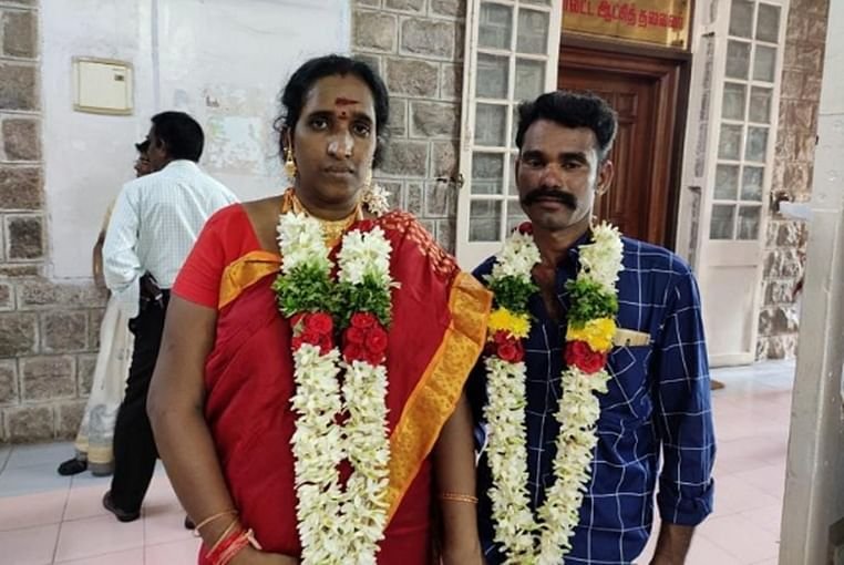 Tamil Nadu: Man allegedly threatened by family for marrying trans woman