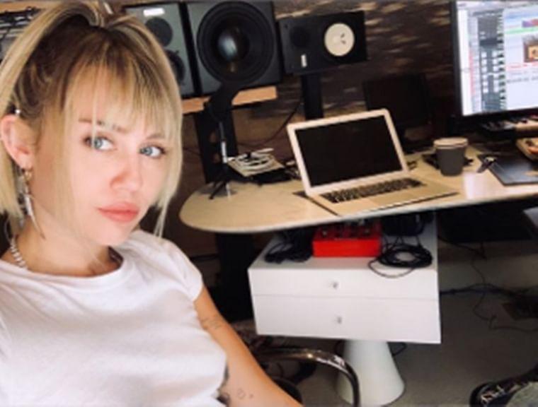 Miley Cyrus back in studio feeling 'inspired' post breakup from Kaitlyn Carter