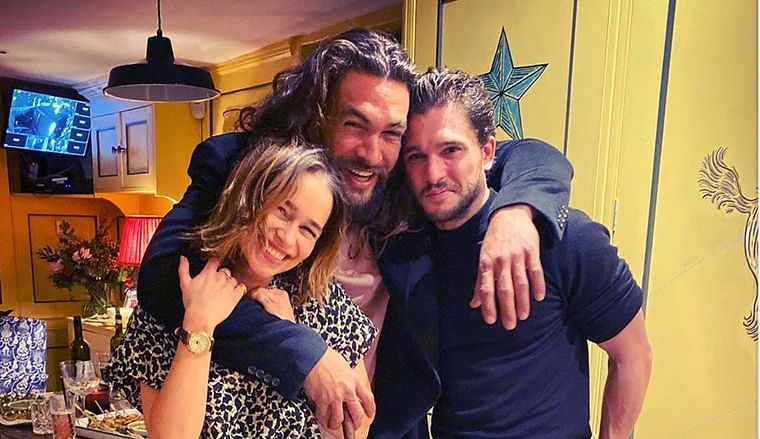 Emilia Clarke celebrates 33rd birthday with 'Game of Thrones' stars