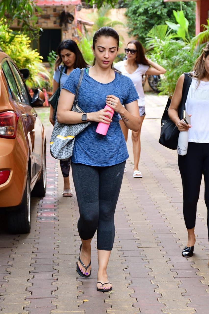 Seema Khan at Diva Yoga