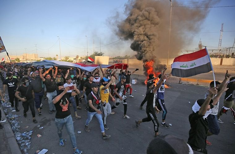 Death toll rises to 104, over 6,000 people injured amid protests across Iraq