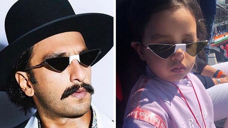 Here's why Ranveer Singh calls Ziva Dhoni 'Fashionista'