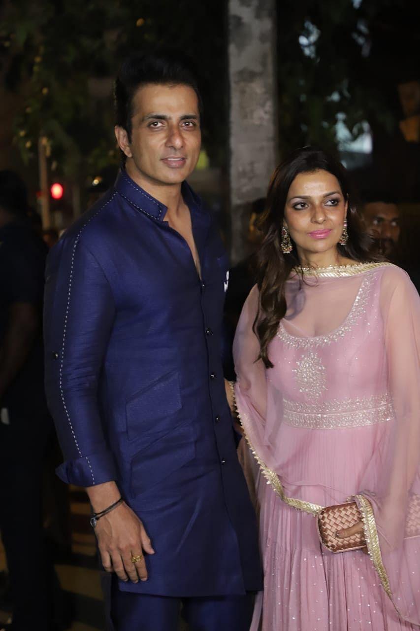 Sonu and Sonali Sood