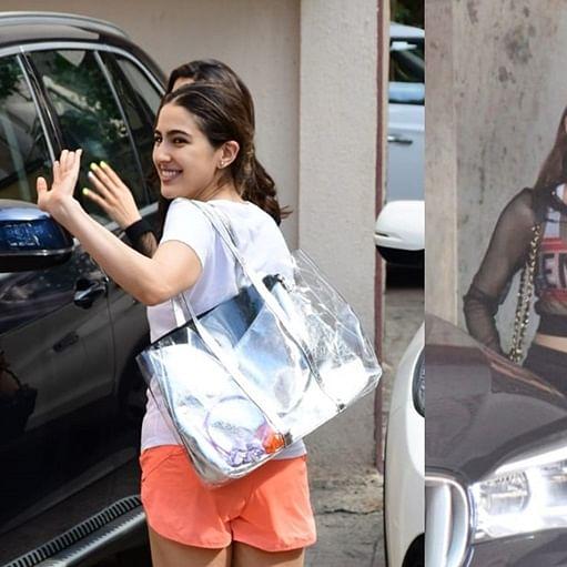 Two hot to handle: Janhvi Kapoor, Sara Ali Khan bond over Pilates