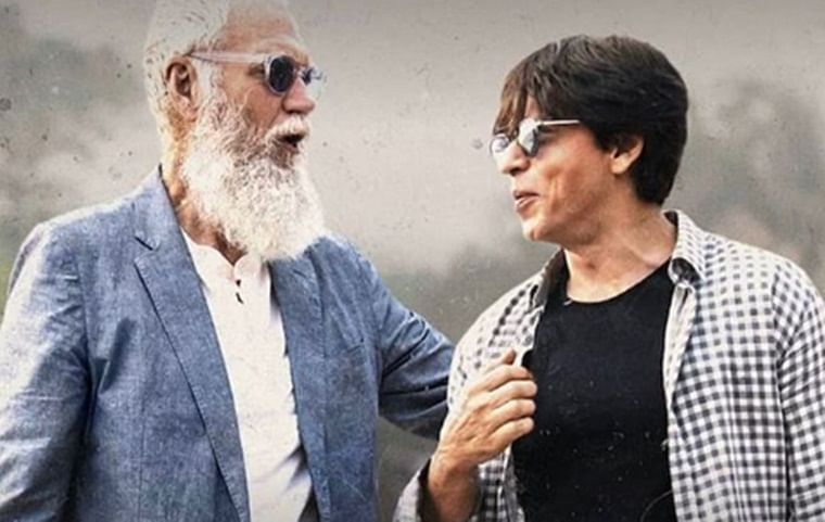 Netizens are going crazy over Shah Rukh Khan's witty responses, trend #WatchSRKLettermanAgain on twitter