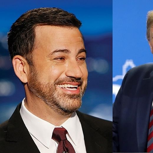 Jimmy Kimmel unveils a hilarious mashup video of Donald Trump's Baghdadi speech