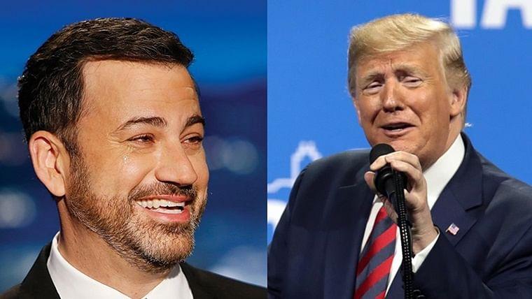 Jimmy Kimmel unveils a hilarious mashup video of Donald Trump's Baghdadi speech