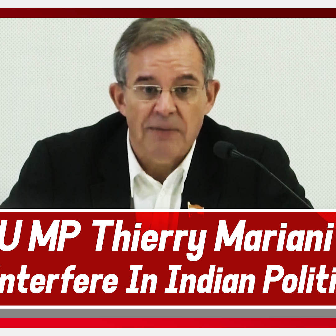 'Not interfering in Indian politics': EU MP from France Thierry Mariani