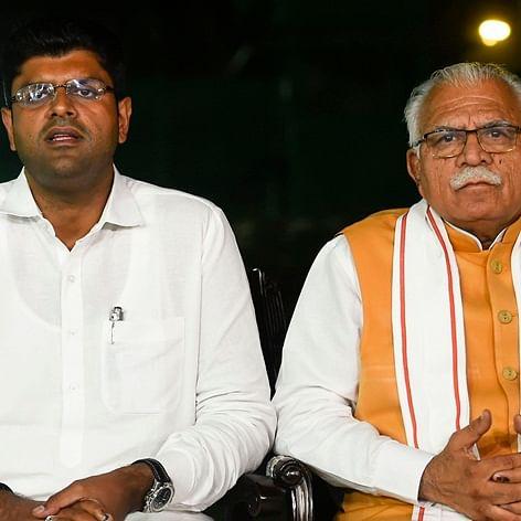 Manohar Lal Khattar to take oath as Haryana Chief Minister today, Dushyant Chautala his deputy