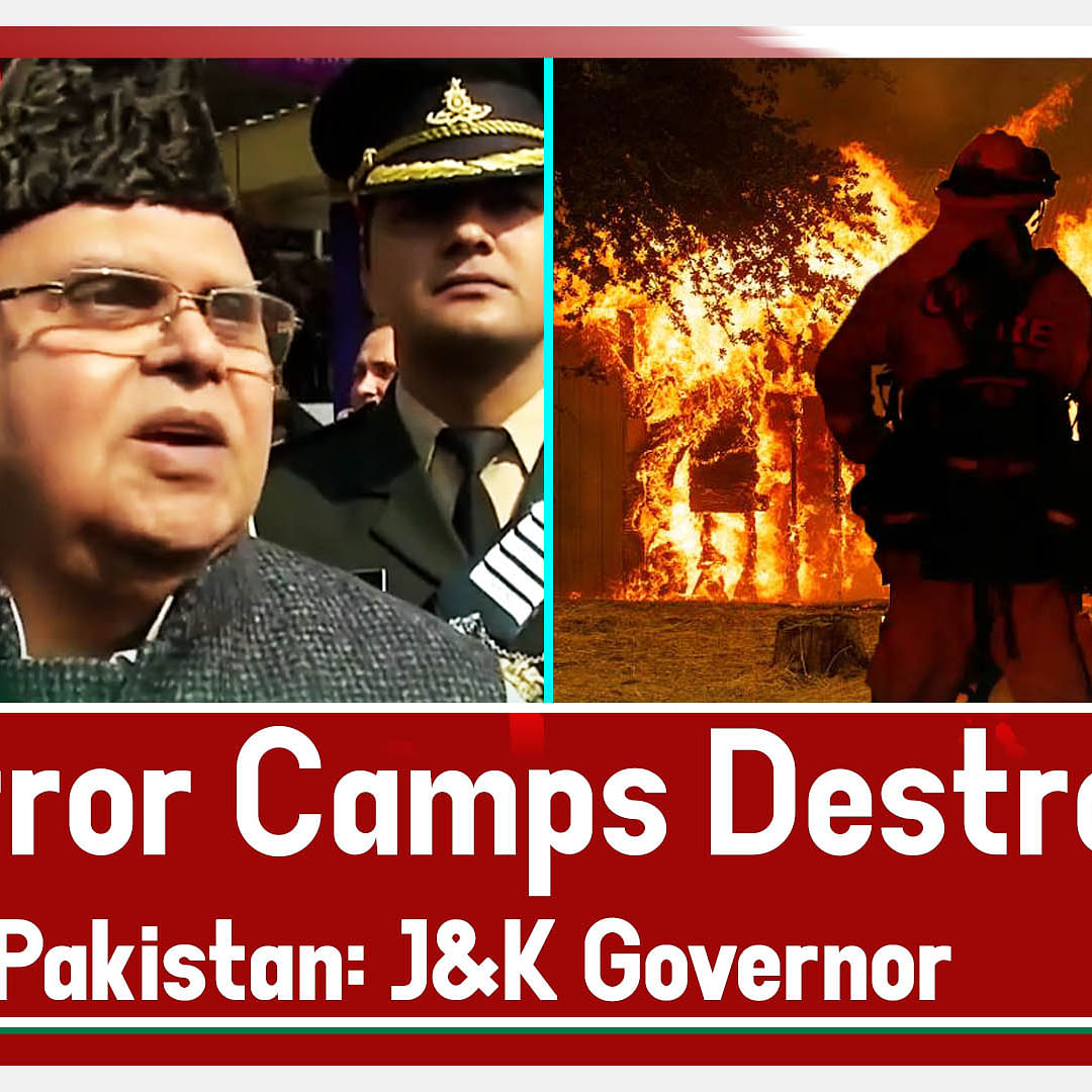 Breaking: Indian Army Destroyed Three Terror Camps In Pakistan: J&K Governor Satya Pal Malik