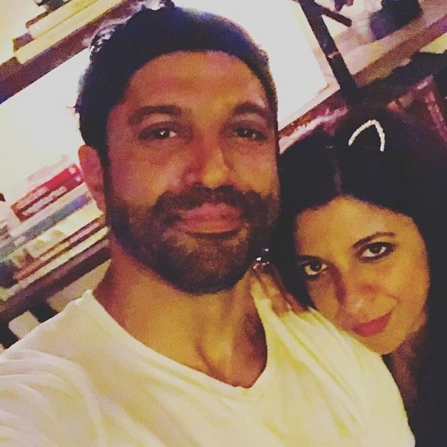 Bas Oscar le aana: Farhan Akhtar posts most adorable wish for his sister