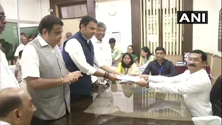 Maharashtra Election 2019 Live Updates: Devendra Fadnavis files his nomination from Nagpur South West assemby