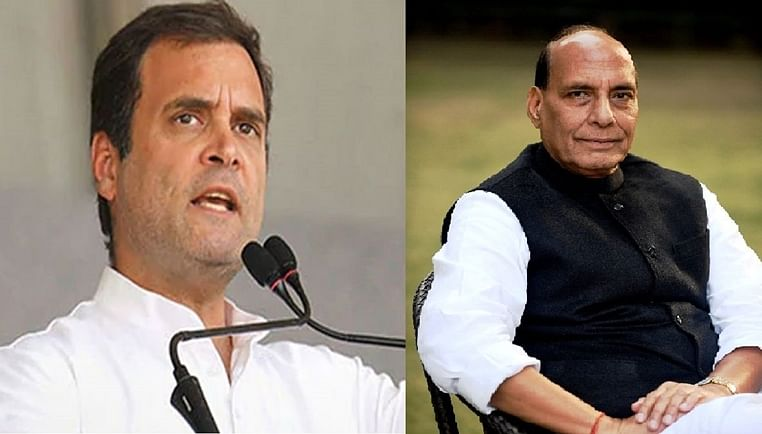 Rahul Gandhi rips into defence minister Rajnath Singh's statement on disengagement with China