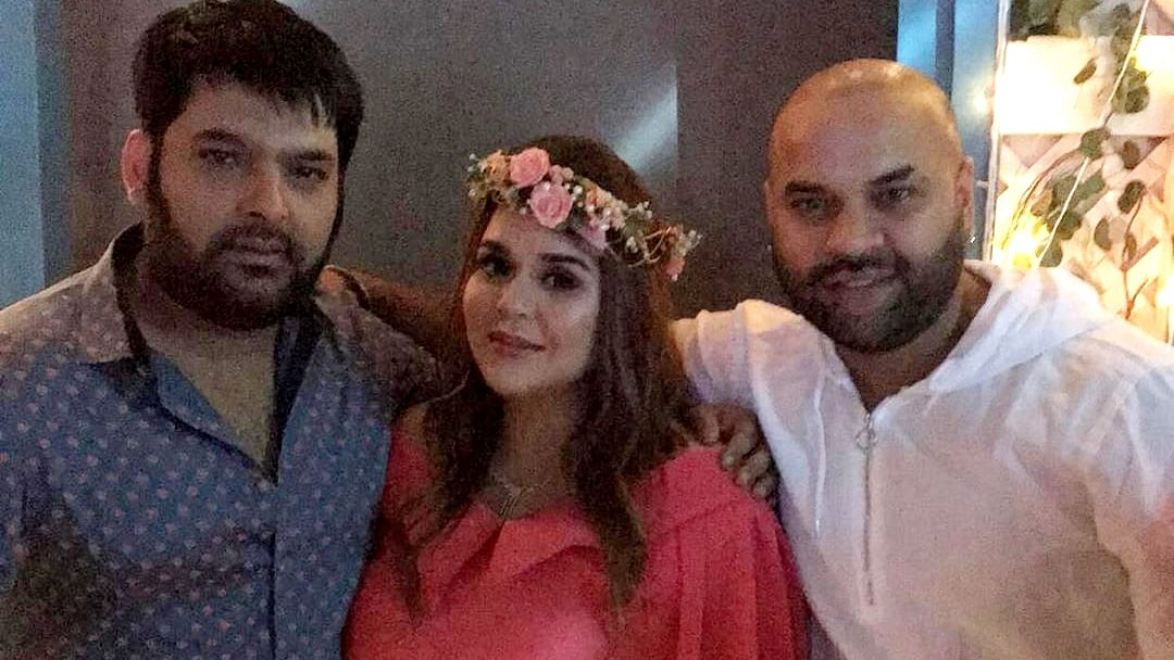 In Pics: Kapil Sharma hosts a baby shower for wife Ginni