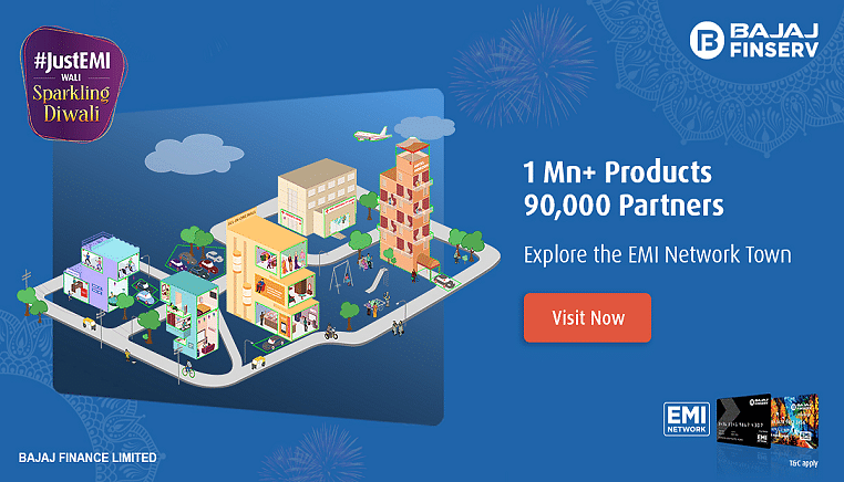 Bajaj Finserv's Sparkling Diwali Offers:  More than 1000 offers you can grab on #JustEMI