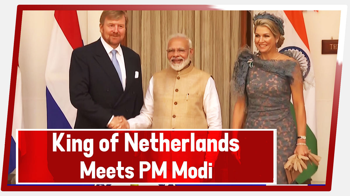 King Of Netherlands Meets PM Modi In Delhi