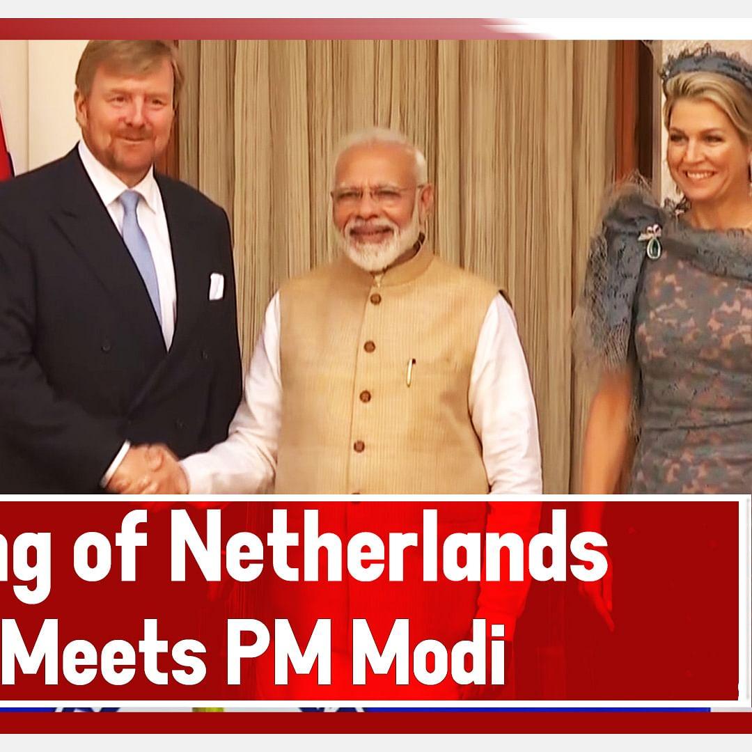 King Of Netherlands Meets PM Modi In Delhi