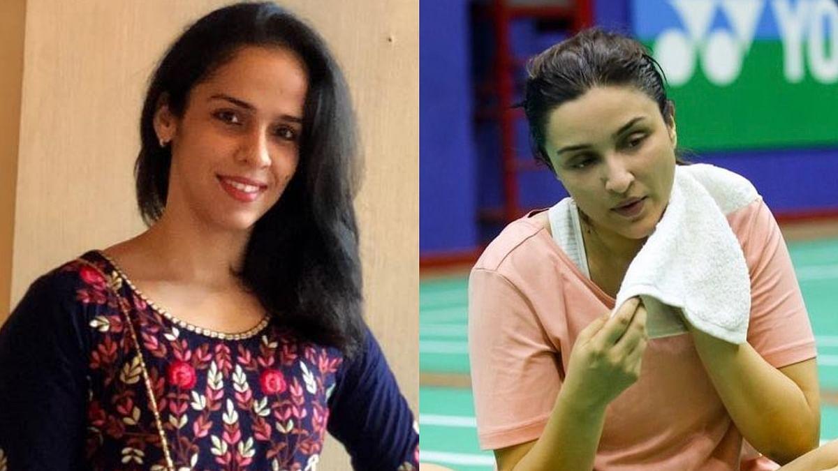 Saina Nehwal praises Parineeti Chopra as 'The Best On-screen Athlete ' in recent picture