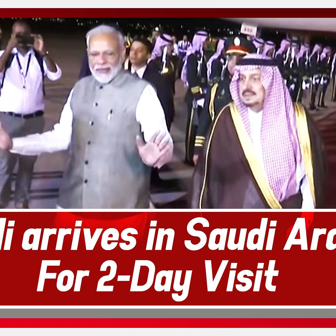 PM Modi Arrives In Saudi Arabia For Two-day Visit, Hold Talks With Top Leadership