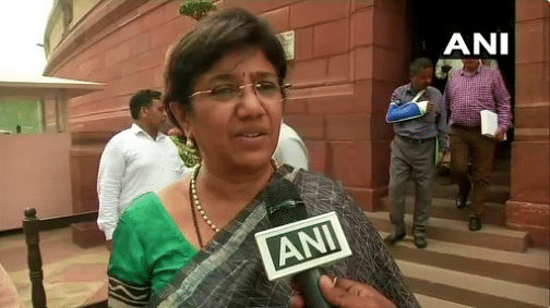 NCP Rajya Sabha MP Vandana Chavan