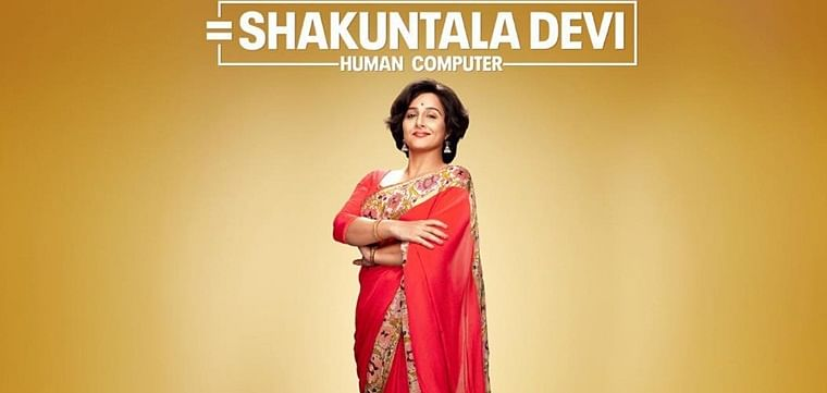 Vidya Balan shares the teaser of her next flick 'Shakuntala Devi-Human Computer'