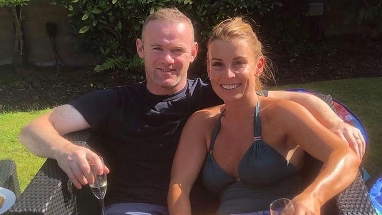 Coleen Rooney with husband Wayne Rooney.