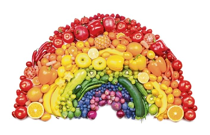 Rainbow connection: Colours have positive impact on your mind and body