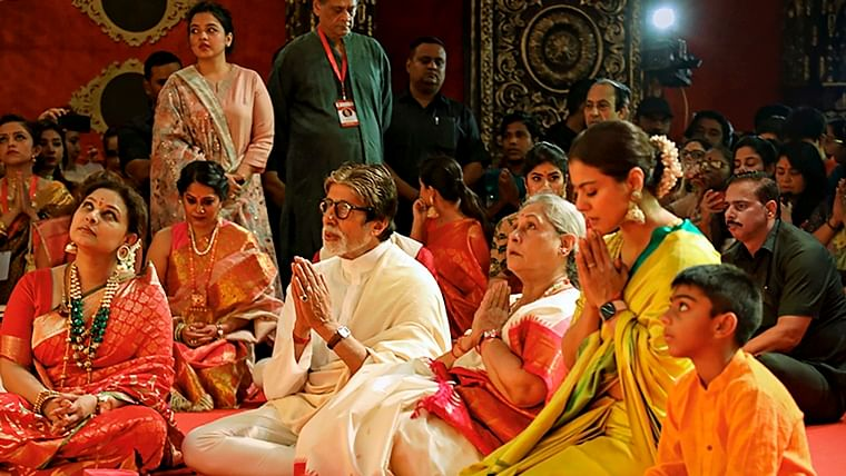 Durga Puja 2019: When Amitabh, Jaya, Kajol, Rani came together and gave us the perfect 'K3G' reunion