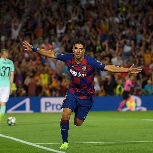 UEFA Champions League, Barcelona vs Inter Milan: Luis Suarez's brace helps Barcelona edge past Inter Milan