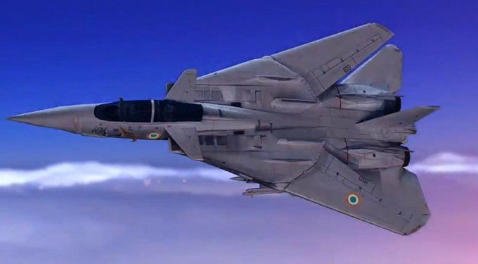 Aircraft used in Rafale's pan masala animated video
