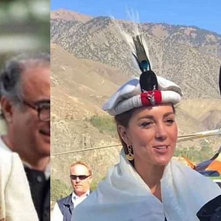 Kate Middleton is giving us a major Diana throwback with her traditional attire during Pak visit