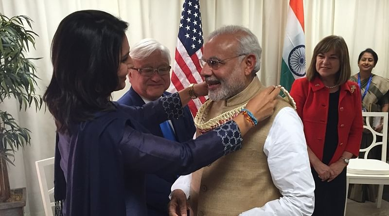'Do you know what instigated the 2002 Gujarat riots?': Tulsi Gabbard to questioner when asked about her relationship with Modi