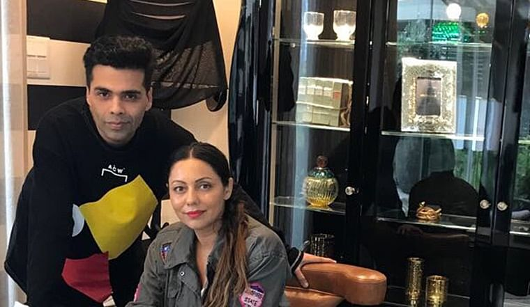 KJo calls Gauri Khan his 'silent support system in my life'
