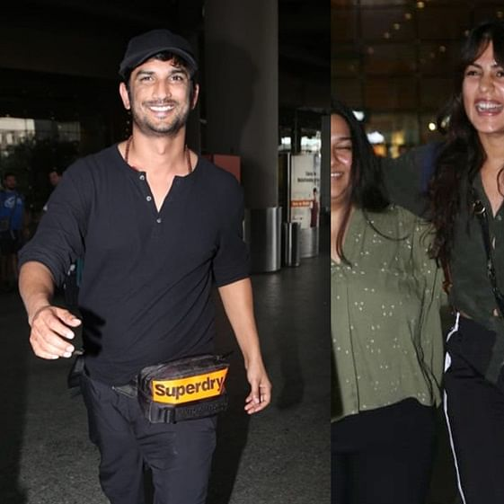 Lovebirds Sushant and Rhea are glowing after lovey-dovey Paris vacay