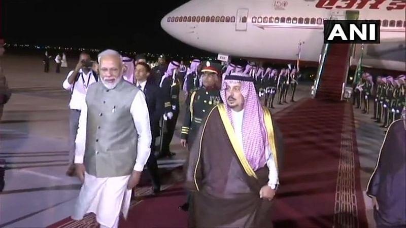 PM Modi arrives in Saudi Arabia; to attend key economic forum, hold bilateral talks with King