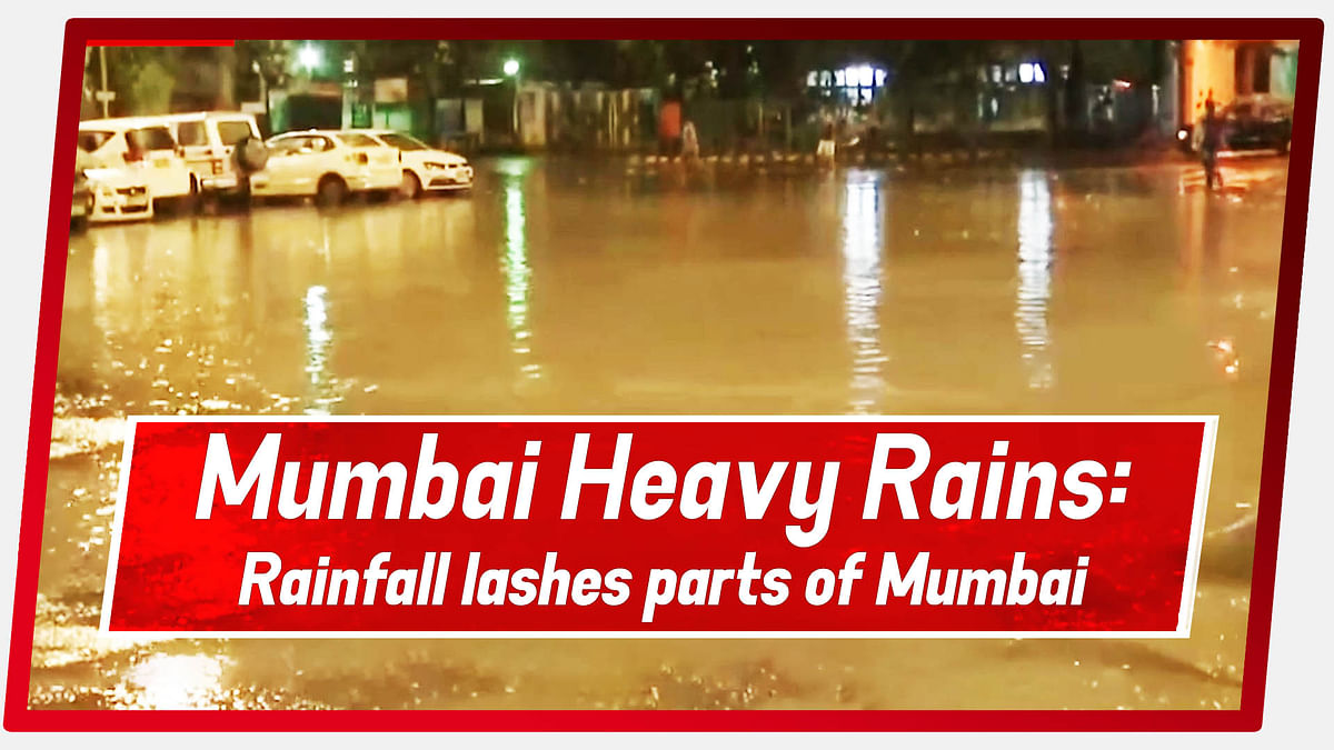 Mumbai Heavy Rains: Rainfall lashes parts of Mumbai