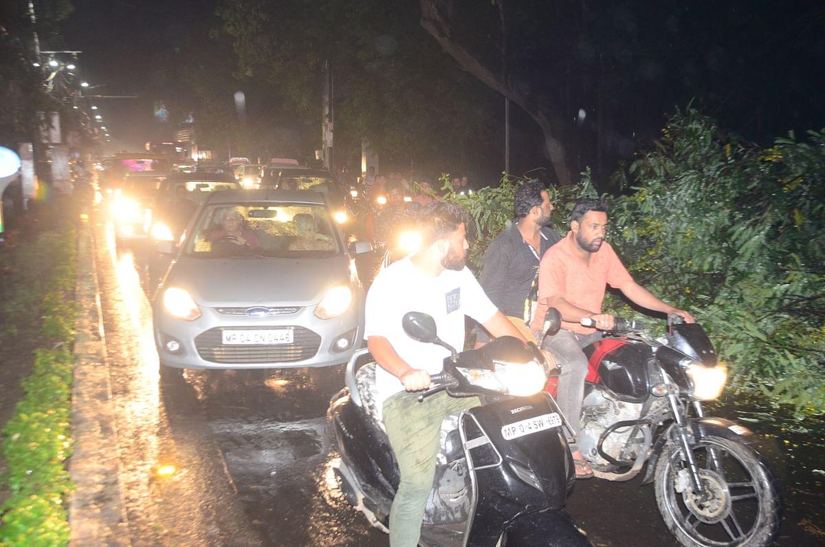 "Bhopal: Now cyclone ""Maha"" led rain drenches state capital"