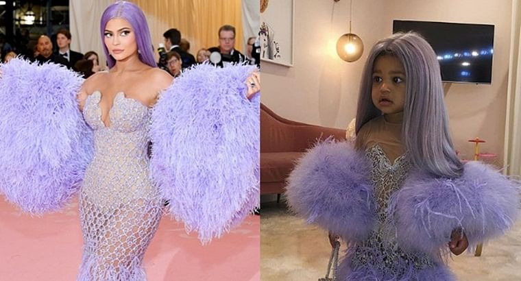 Kylie Jenner's daughter Stormi recreates her MET Gala look for Halloween