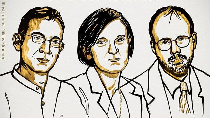 The winners of 2019 Nobel Prize for Economics.