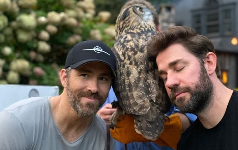 Ryan Reynolds, John Krasinski are 'Imaginary Friends'