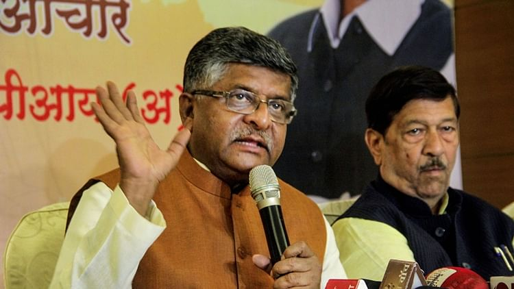 Senior BJP leader and Union Minister Ravi Shankar Prasad