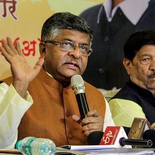 Union Minister Ravi Shankar Prasad in self-isolation as precaution, had met Amit Shah on Saturday