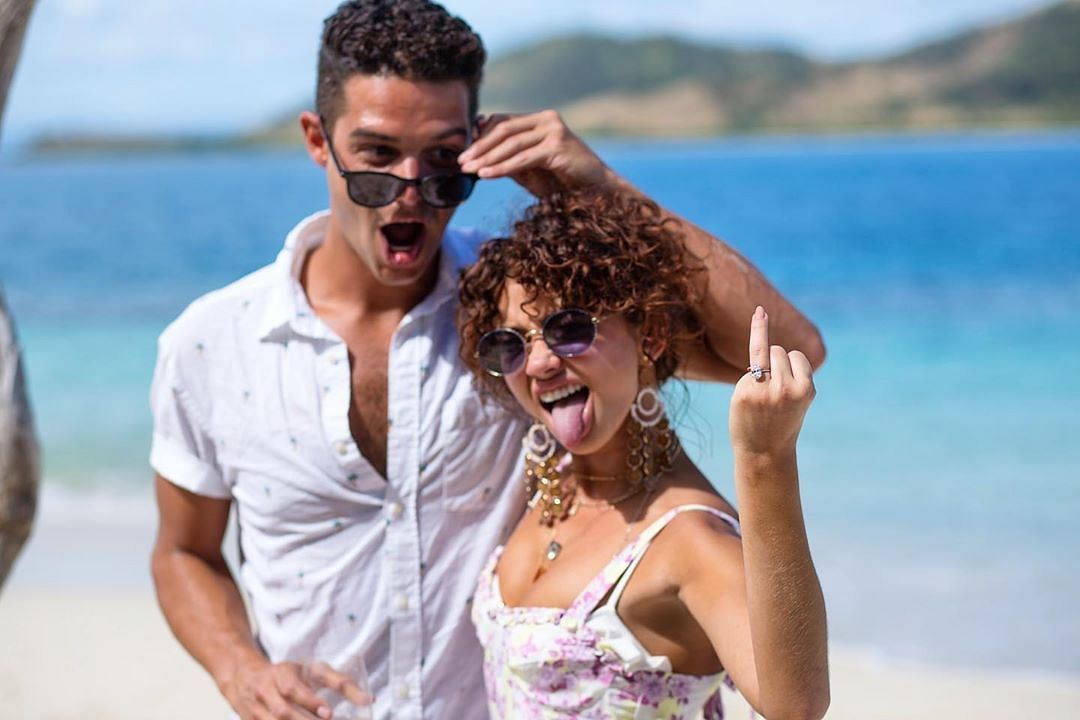 Wells Adams reveals how airport security ruined his proposal to Sarah Hyland