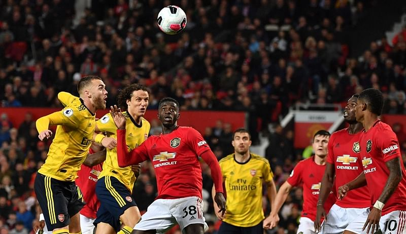 Premier League: Manchester United, Arsenal play out a draw