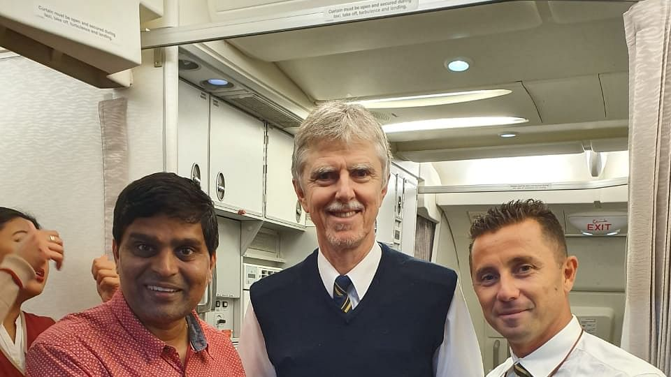 Indore: City's homoeopath saves US passenger aboard Dubai-Mumbai flight
