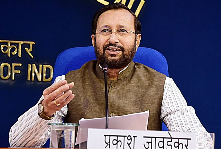 Javadekar takes jibe at Congress over its stand on RCEP