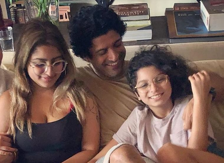 Farhan Akhtar reveals how his daughters reacted to his divorce