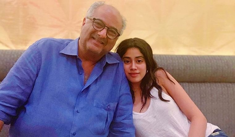 Janhvi Kapoor and Boney Kapoor teaming up for 'Bombay Girl'